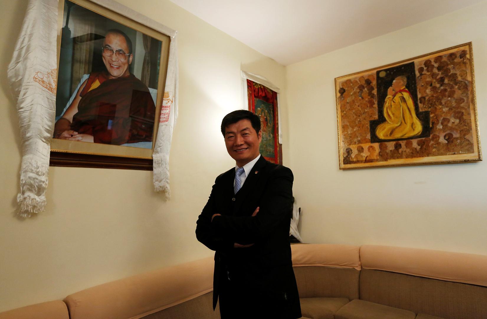 رئيس حكومة التبت في المنفى،  لوبسان سانجاي