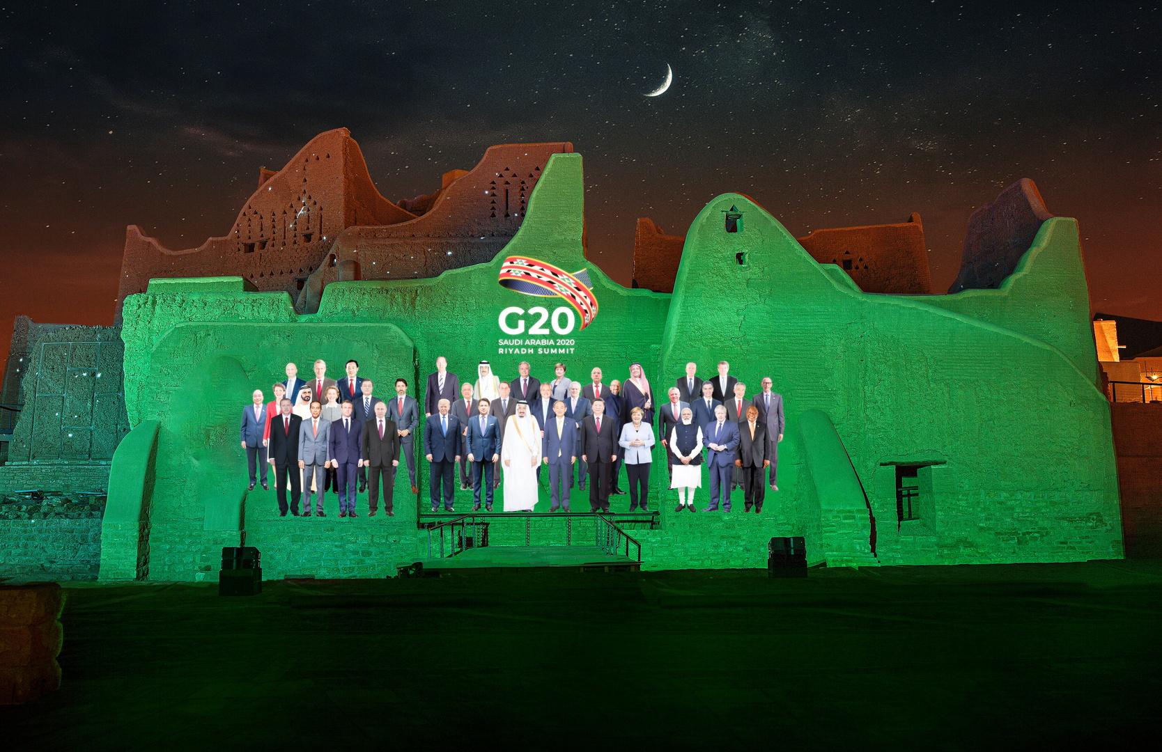 زعماء G20 يبحثون عالم ما بعد الجائحة