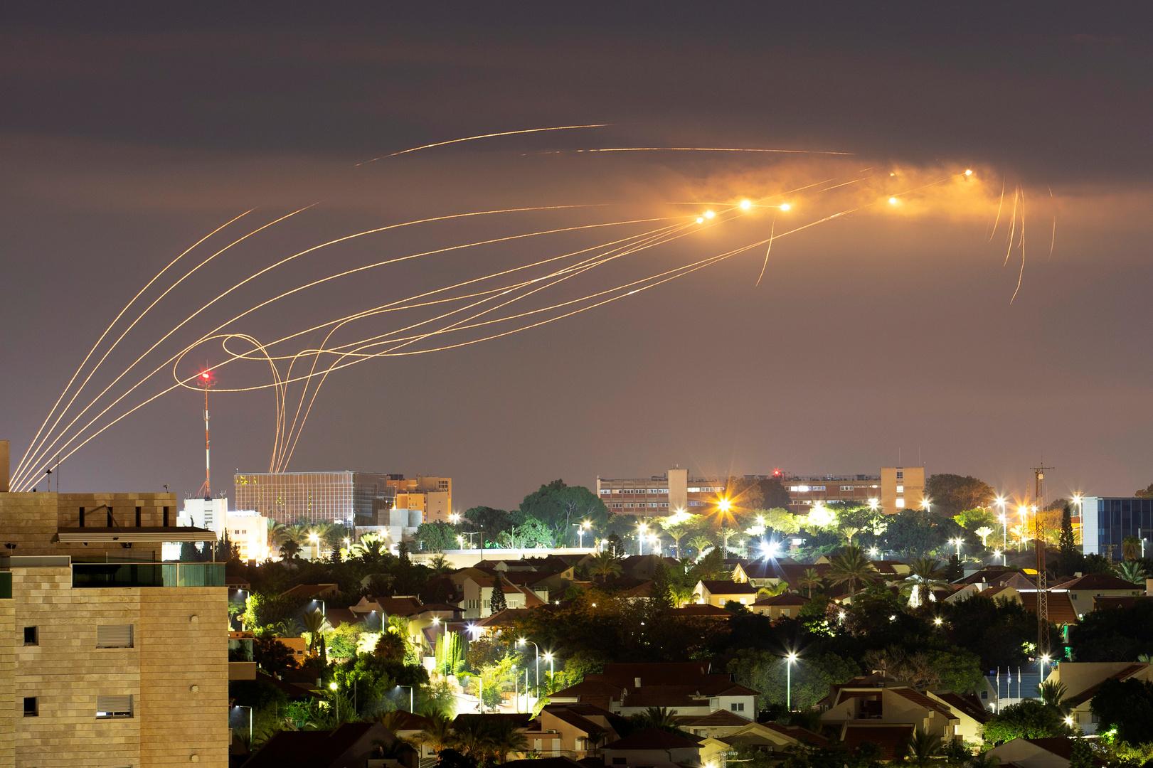 سقوط صاروخ في عسقلان أطلق من قطاع غزة