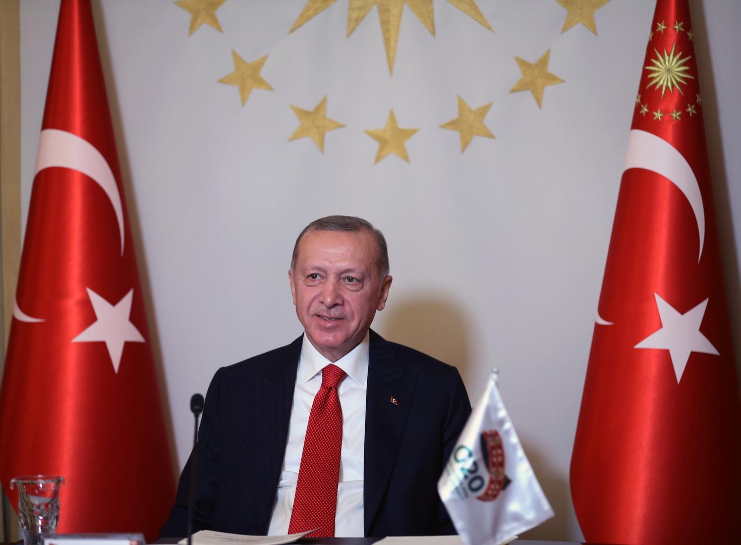 أردوغان: نهنئ السعودية بنجاح قمة مجموعة العشرين
