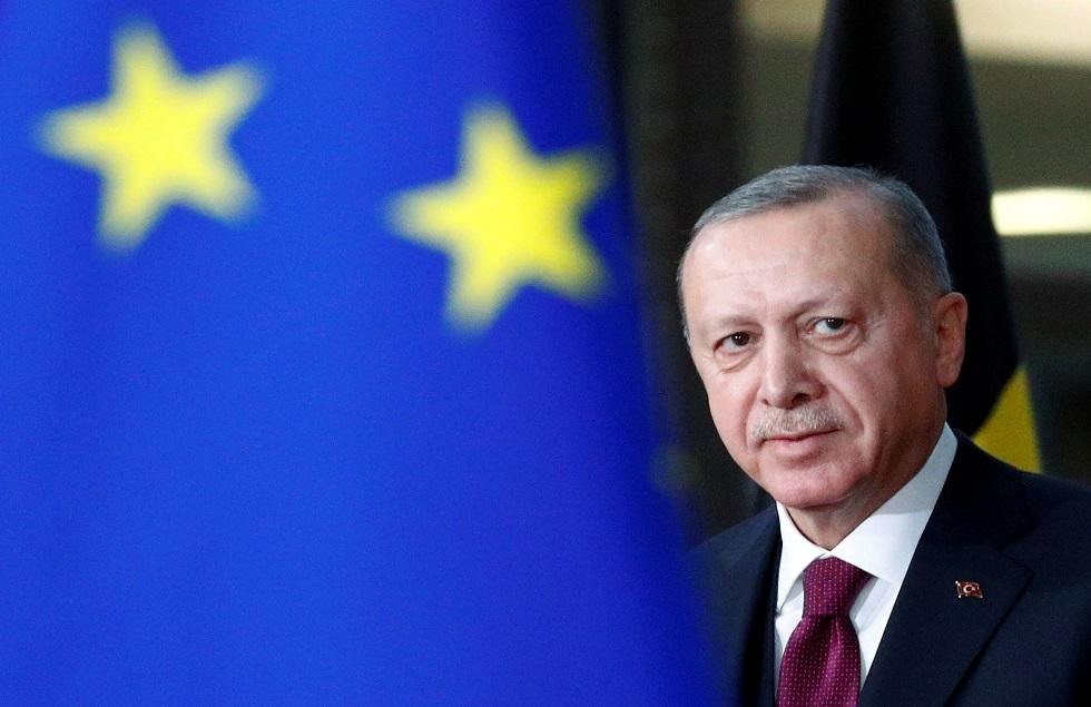 أردوغان يدعو الاتحاد الأوروبي