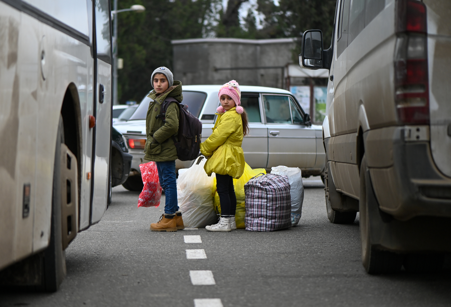 القوات الروسية تؤمن عودة أكثر من 1400 لاجئ أرمني إلى قره باغ