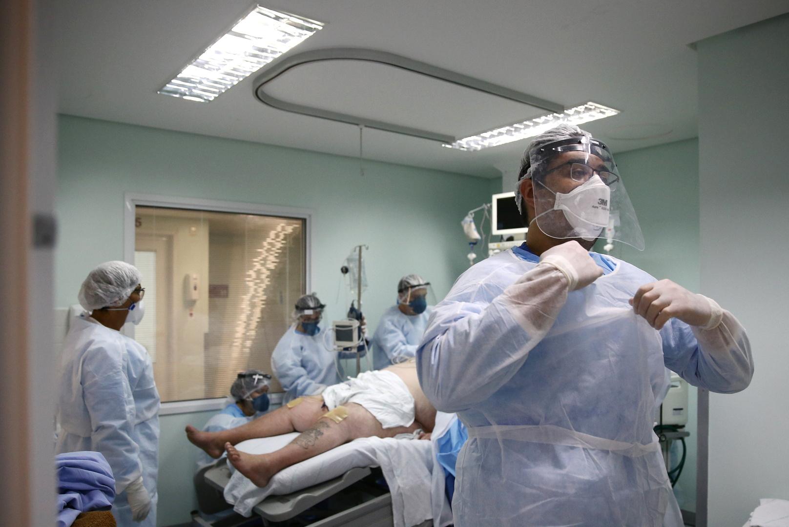 البرازيل.. 194 وفاة و18615 إصابة جديدة بكورونا