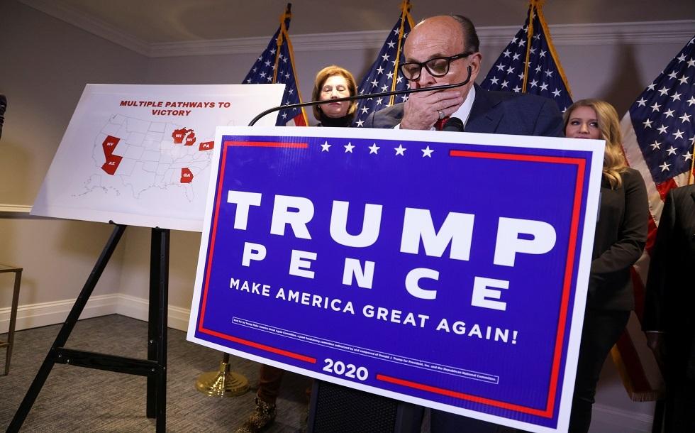 حملة ترامب تنفي عضوية المحامية سيدني باول في الفريق القانوني