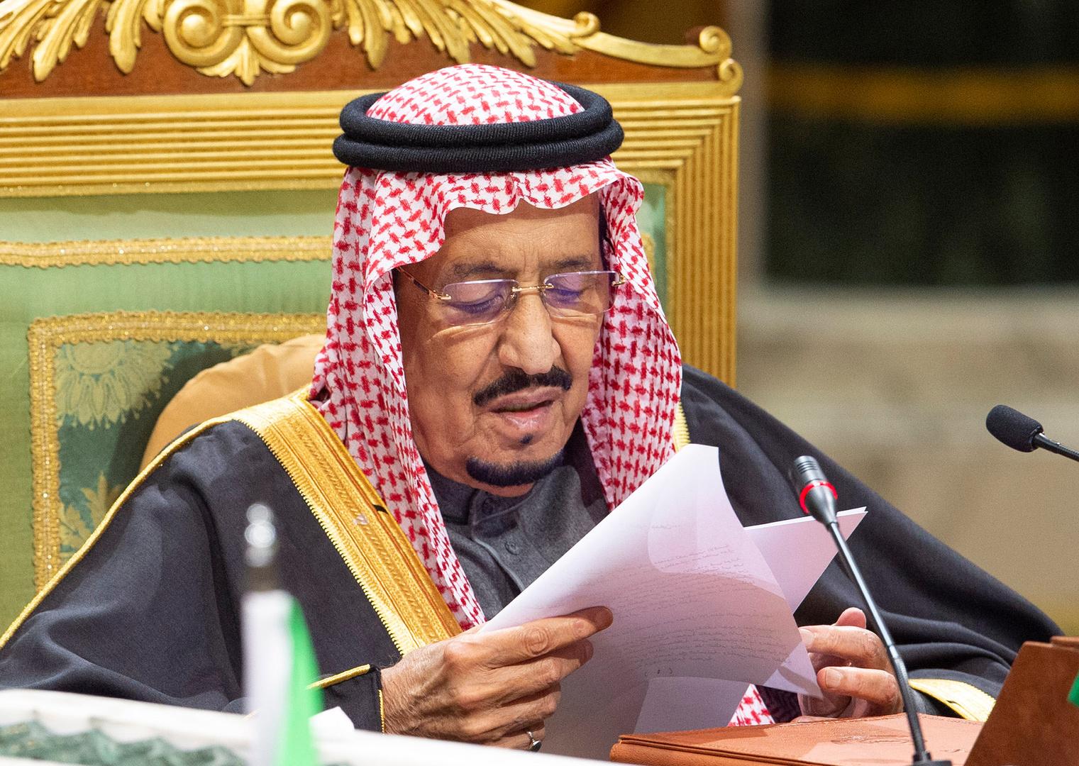 الملك سلمان يؤكد لرئيس المجلس الأوروبي حرصه على تعزيز العلاقات