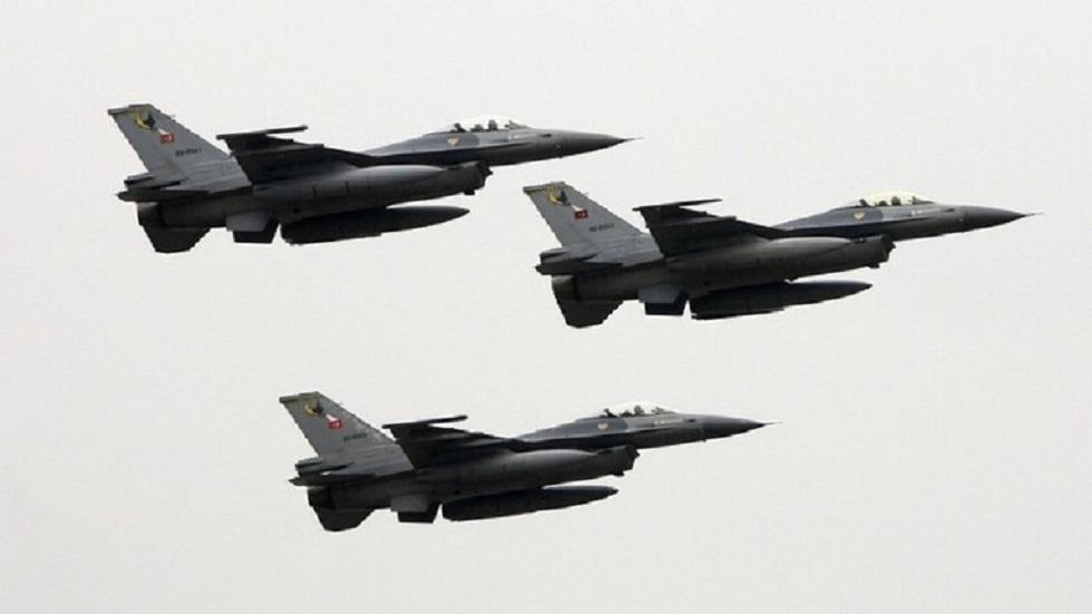 طائرات مقاتلة تركية - أرشيف