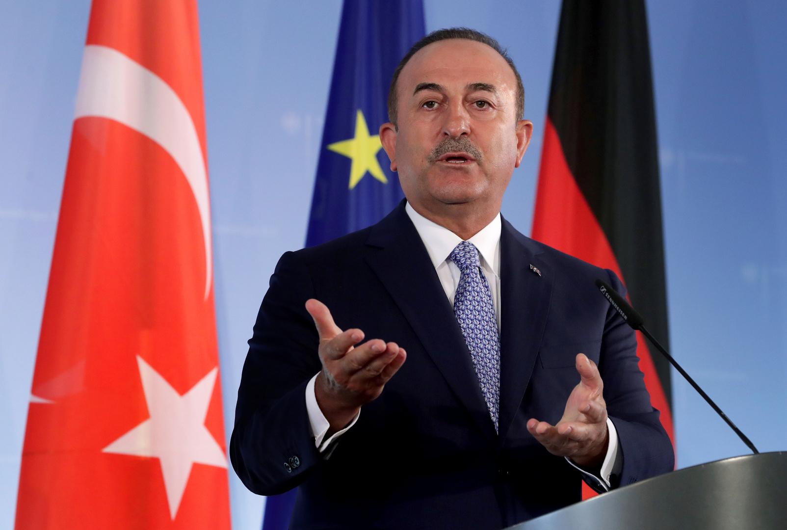 تشاووش أوغلو: على الاتحاد الأوروبي أن يدرك قيمة انضمام تركيا إليه
