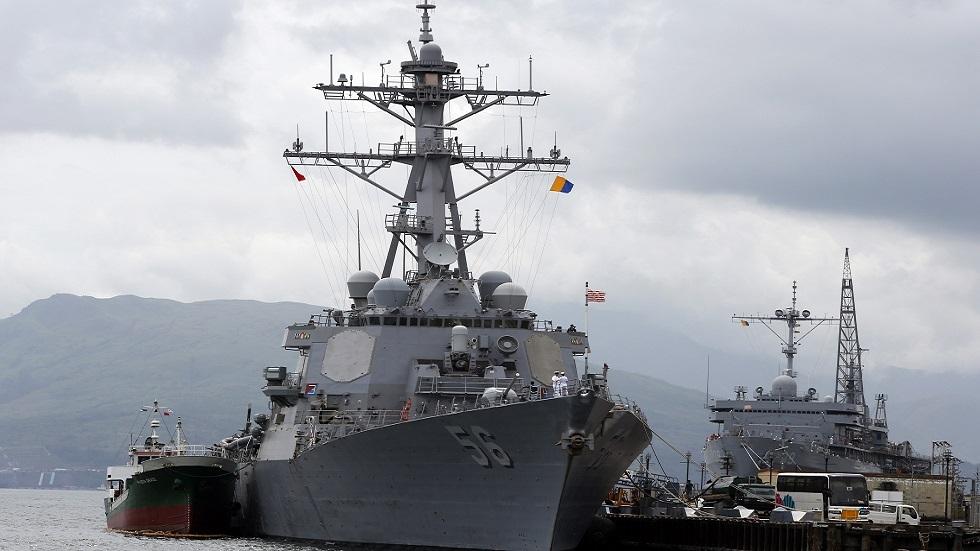 بعد انتهاك مدمرة أمريكية لها..  البحرية الأمريكية تعلن عدم اعترافها بحدود روسية في بحر اليابان