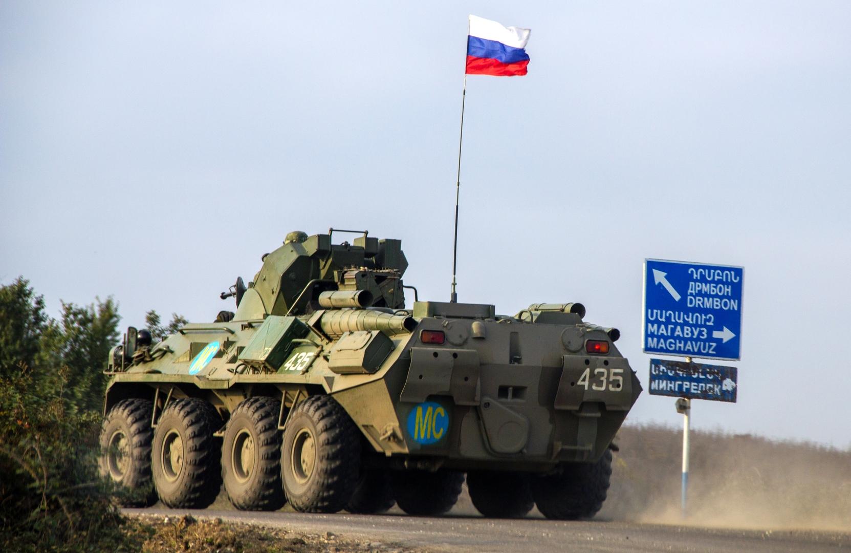 باشينيان: بقاء قوات حفظ السلام الروسية في قره باغ لن يقتصر على 5 سنوات