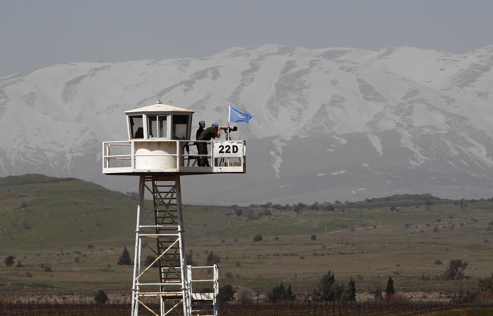 نقطة مراقبة تابعة للأمم المتحدة في الجولان