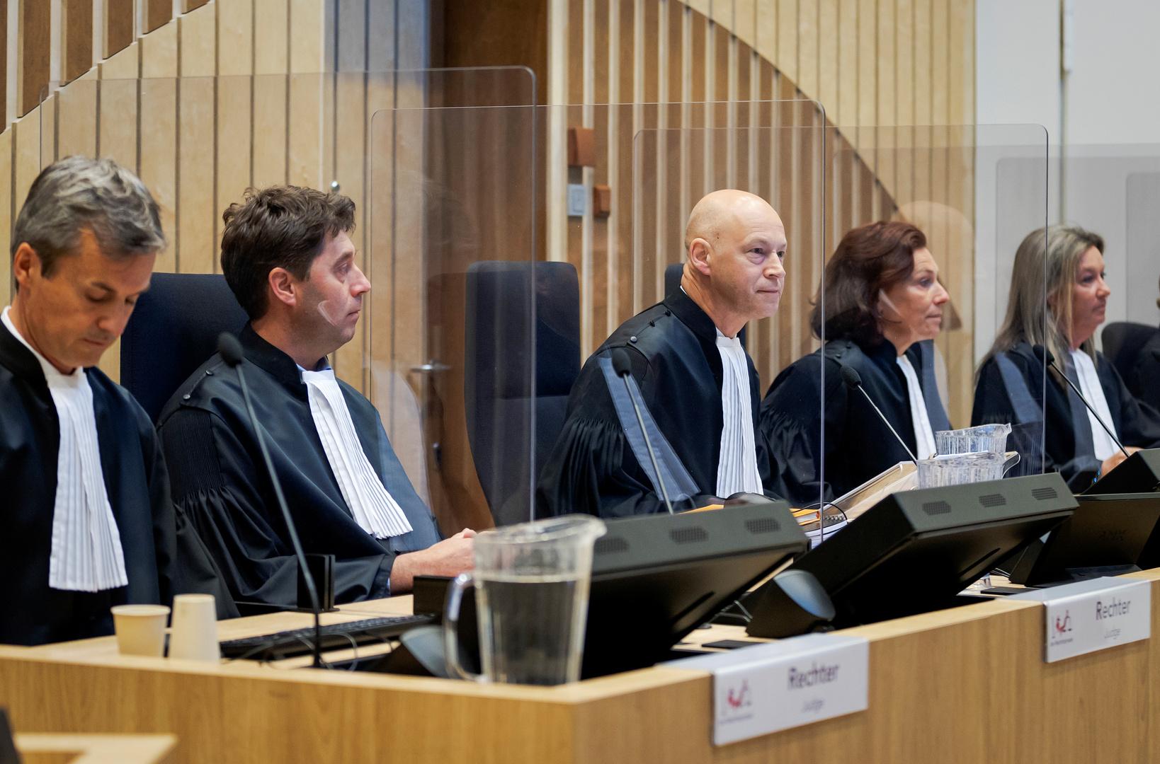 محاكمة في قضية MH17 بمحكمة لاهاي