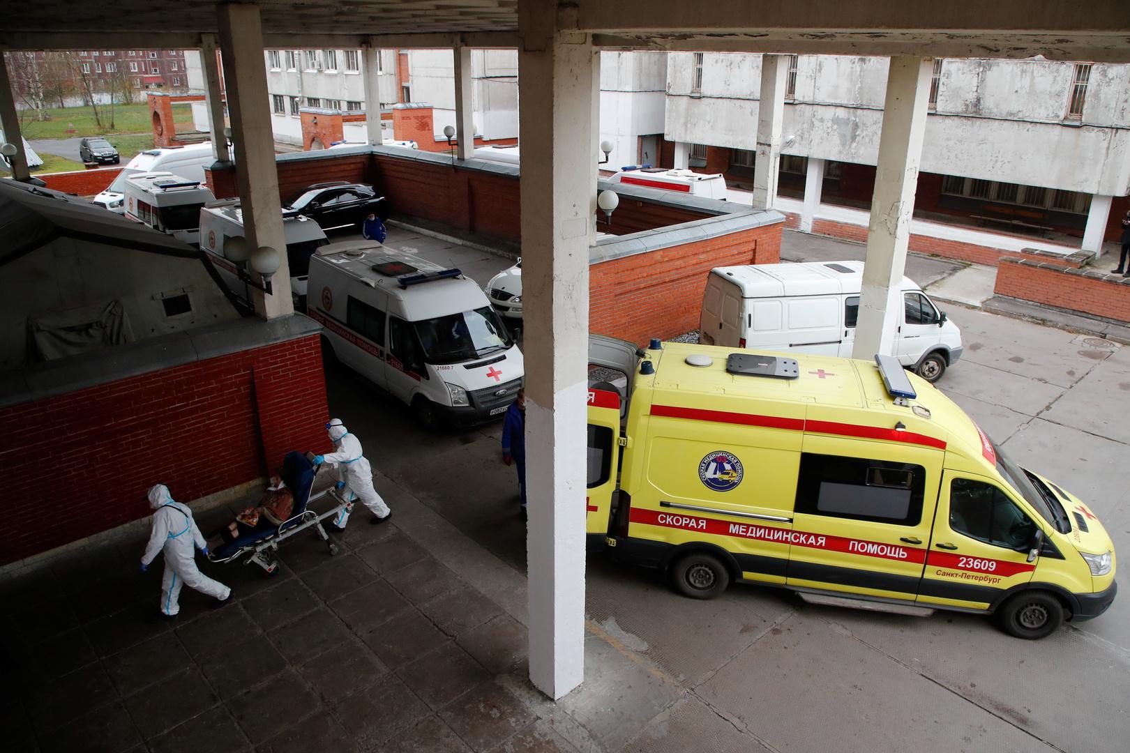 بارتفاع غير مسبوق.. روسيا تسجل 524 وفاة ونحو 25.5 ألف إصابة بكورونا خلال يوم