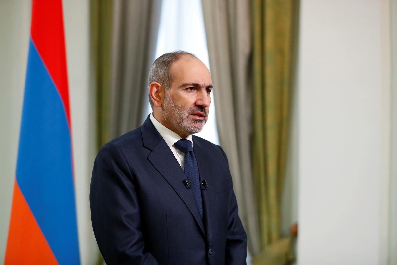 باشينيان: آخذ على عاتقي كامل المسؤولية عن الوضع المستقبلي لأرمينيا