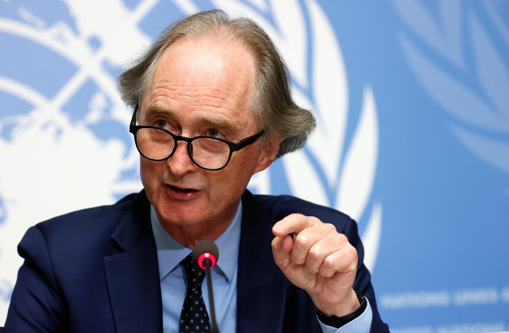 مبعوث الأمم المتحدة الخاص إلى سوريا، غير بيدرسن