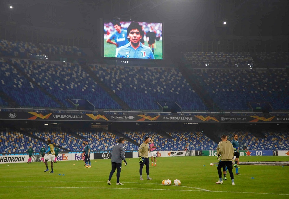 مفعمة بالمشاعر.. نابولي الإيطالي يفوز في أول مواجهة بعد رحيل مارادونا