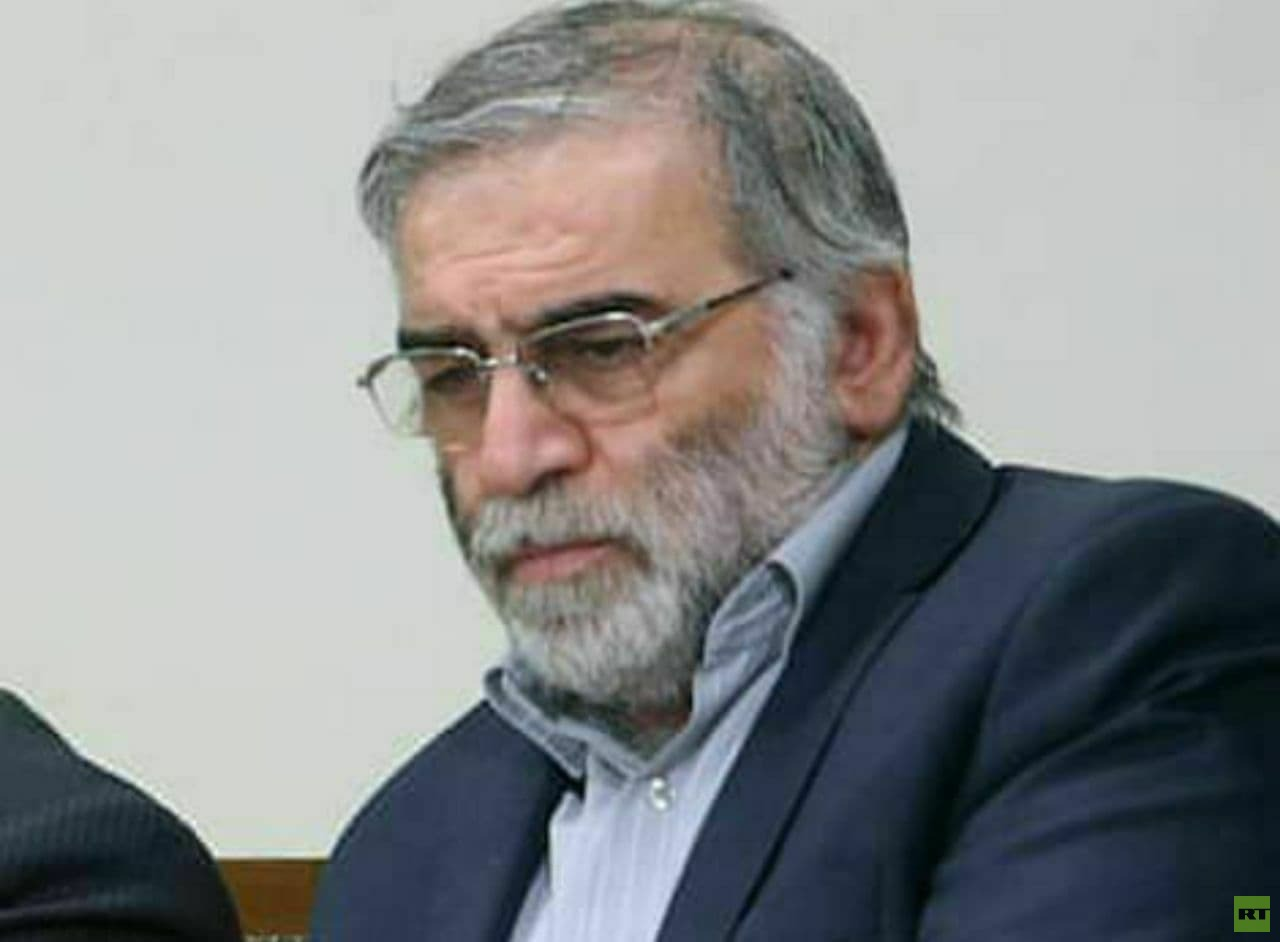 العالم النووي الإيراني محسن فخري زاده