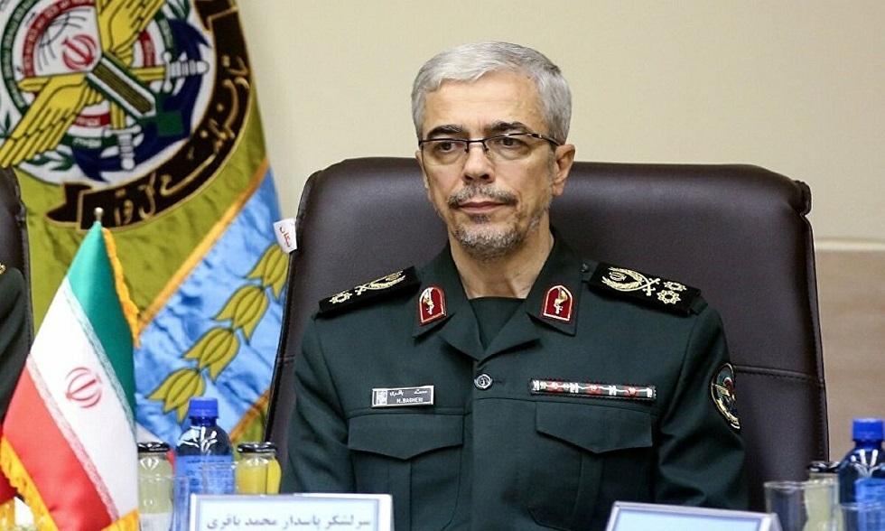 رئيس الأركان العامة للجيش الإيراني، اللواء محمد باقري