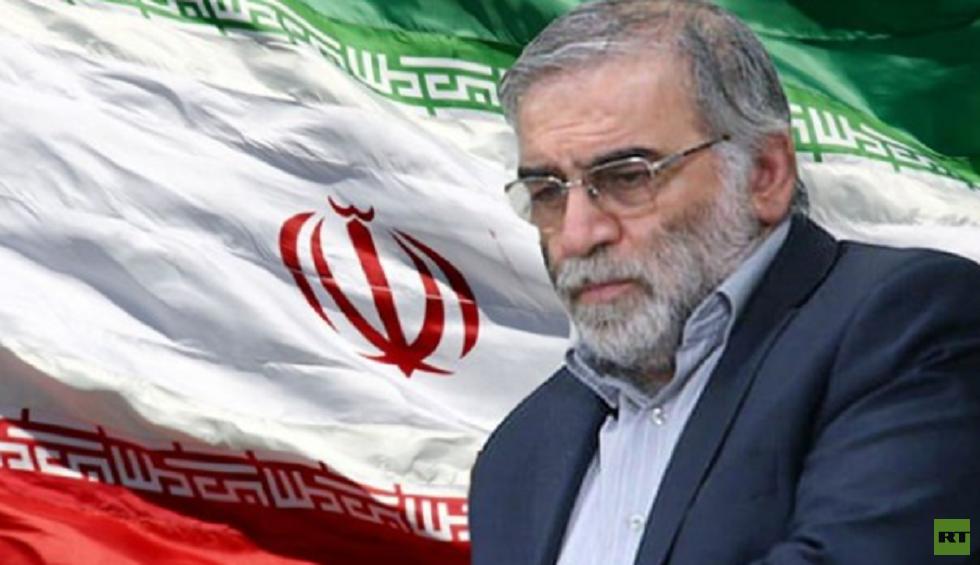 شاهد صورة السيارة انفجرت قرب سيارة العالم الإيراني فخري زادة