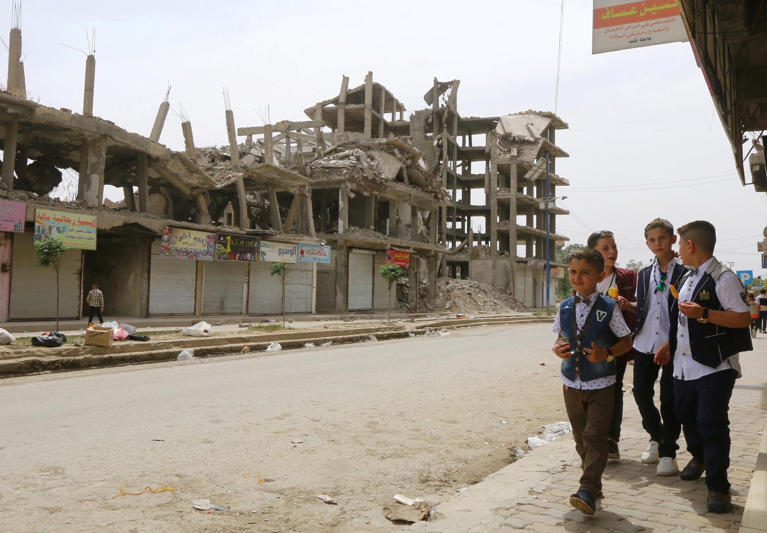 مقتل طفلين بانفجار لغم في ريف الرقة شمالي سوريا
