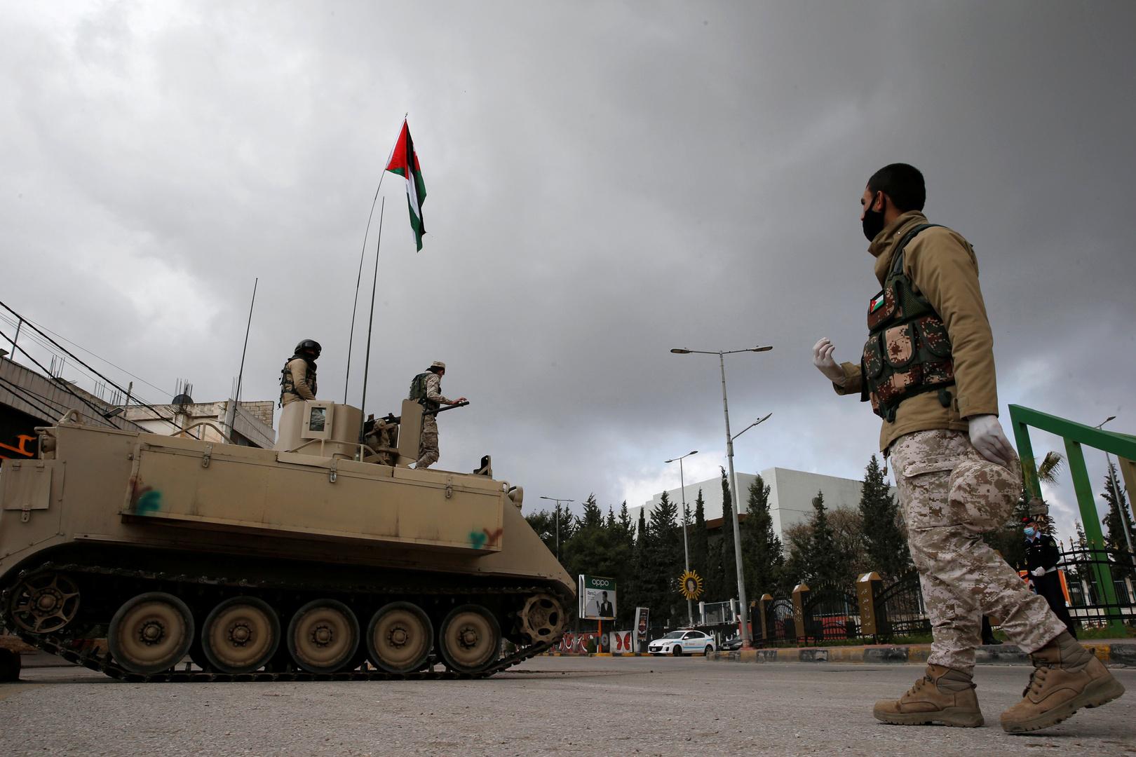 الجيش الاردني يطبق قواعد الاشتباك على الحدود السورية في حادثتين