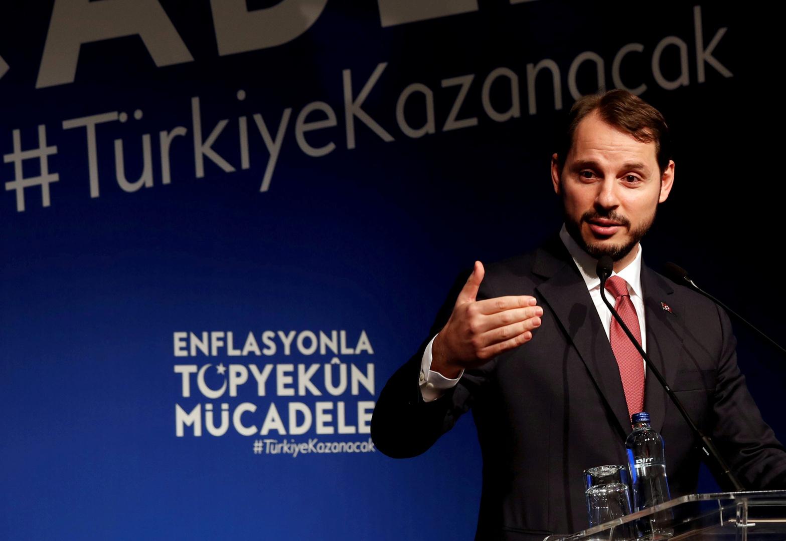 صهر أردوغان يستقيل من منصب آخر