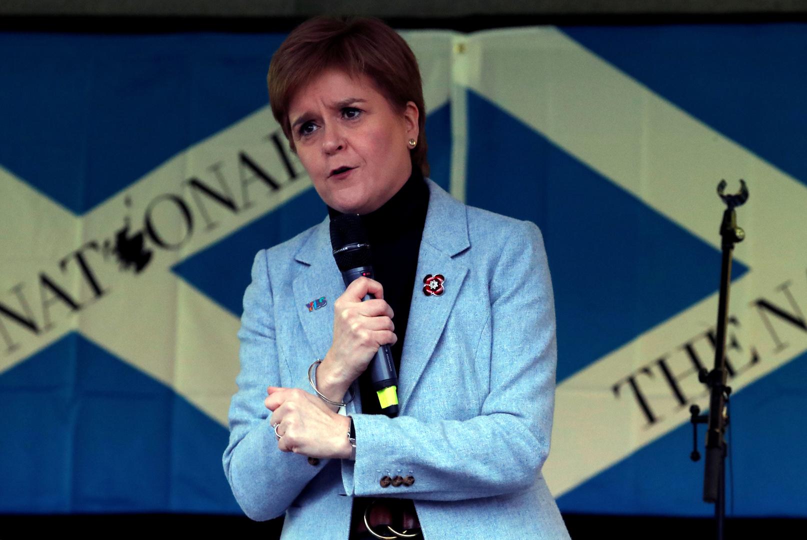 رئيسة وزراء اسكتلندا: متيقنة من تحقيق استقلالنا أكثر من أي وقت مضى