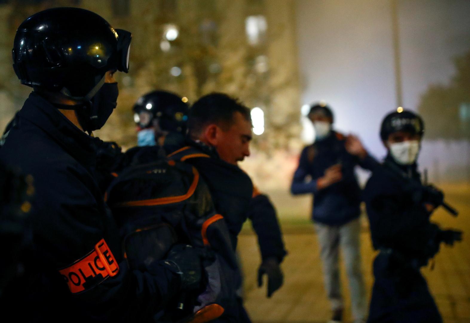 إصابة مصور سوري في مسيرة الحريات بفرنسا و