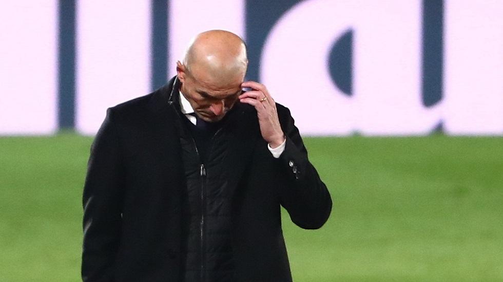 أول تعليق لزيدان بعد سقوط ريال مدريد في عقر داره أمام ألافيس