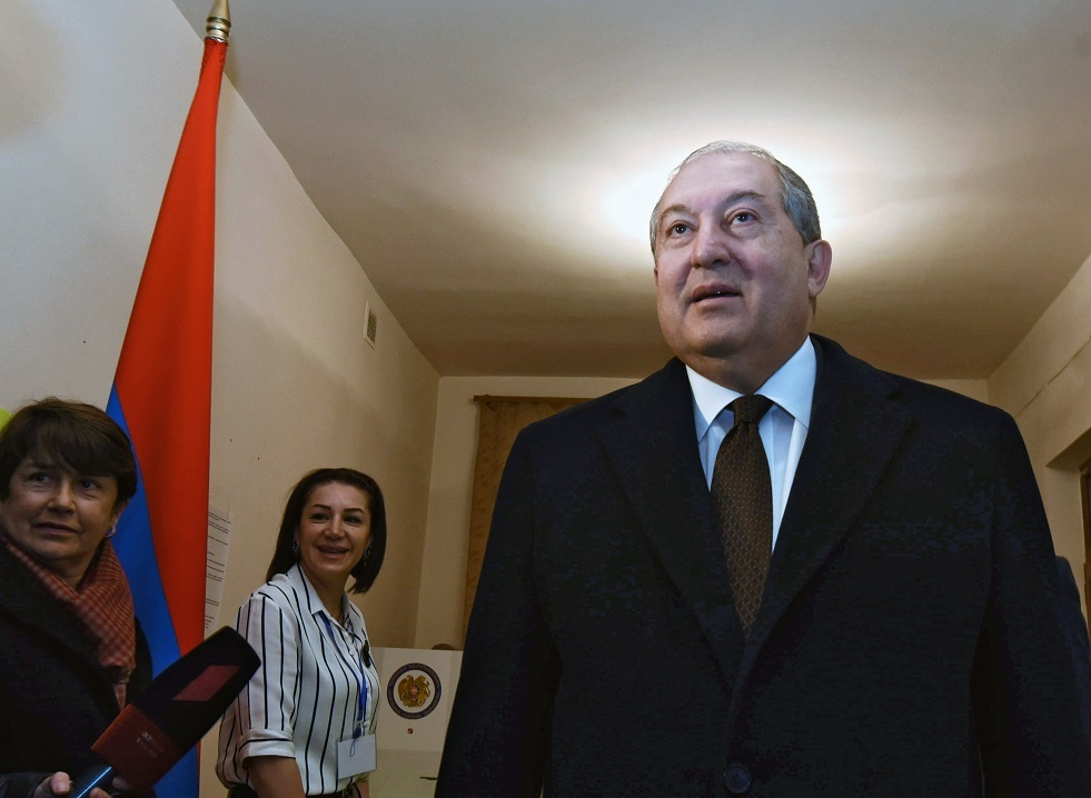رئيس أرمينيا أرمين سركيسيان
