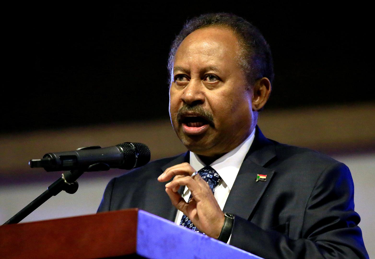 حمدوك: حكومة السودان المقبلة ستضم 25 إلى 26 وزيرا