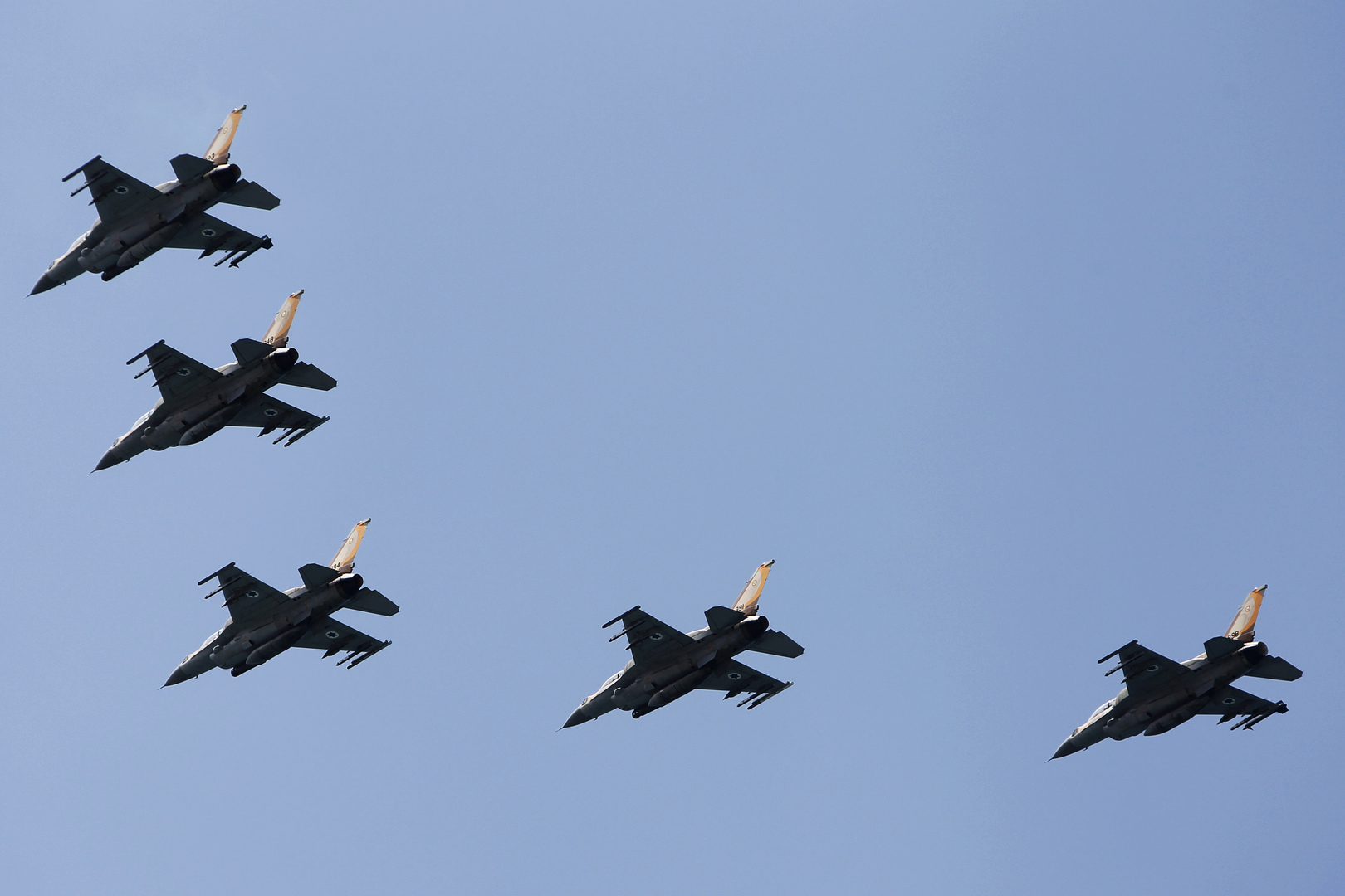 طائرات إف-16 تابعة لإسرائيل