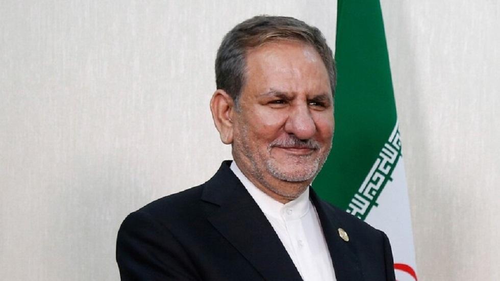 نائب الرئيس الإيراني إسحاق جهانغيري