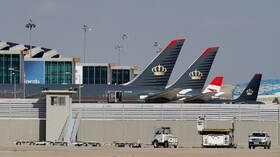 وزارة النقل الأردنية تطلب السماح لطيران