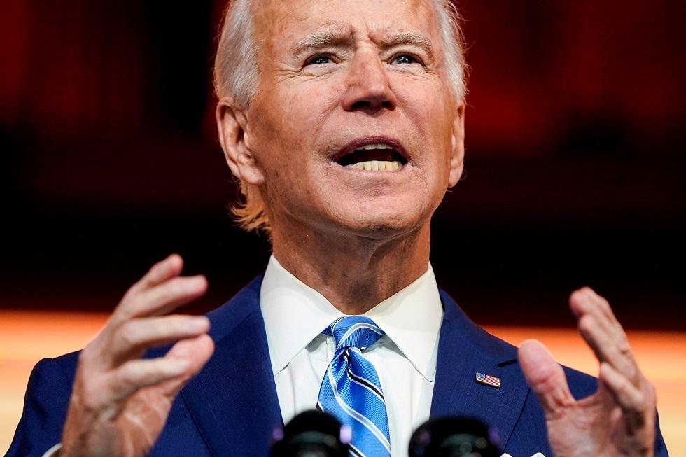 المرشح الديمقراطي للانتخابات الأمريكية جو بايدن