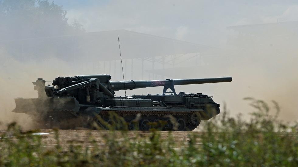 أقوى مدفع روسي يزود بذخائر ذكية