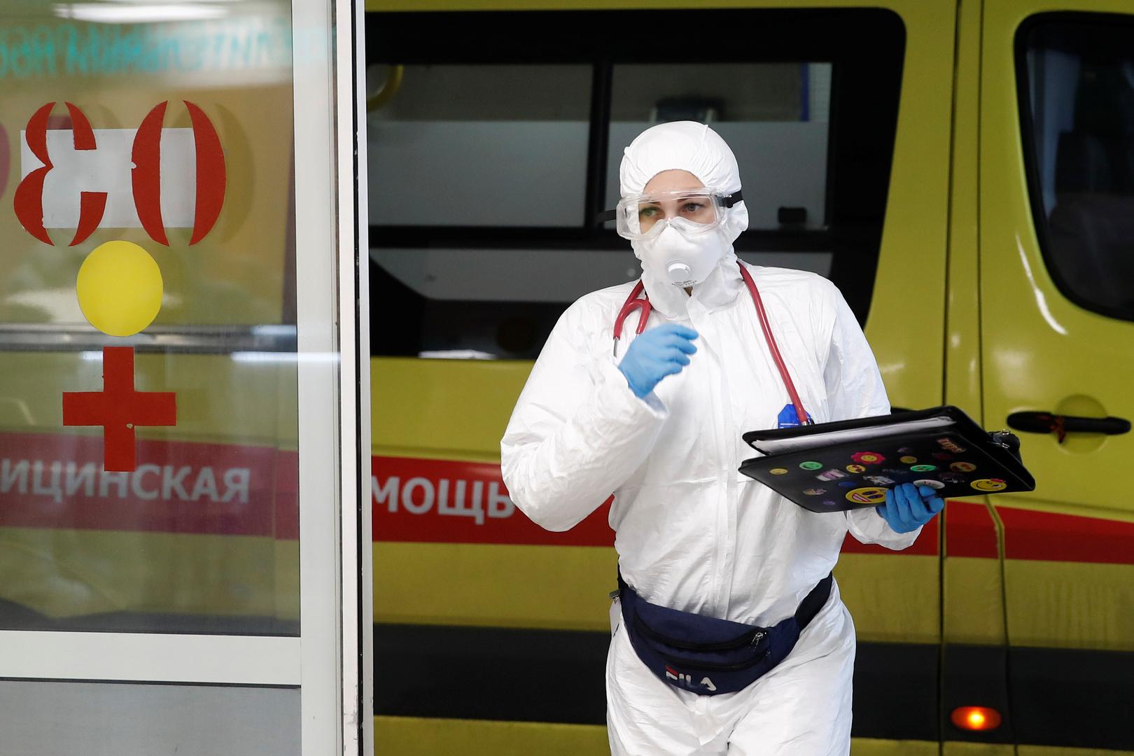 روسيا تسجل 26402 إصابة جديدة بفيروس كورونا و569 وفاة خلال الساعات الـ24 الماضية