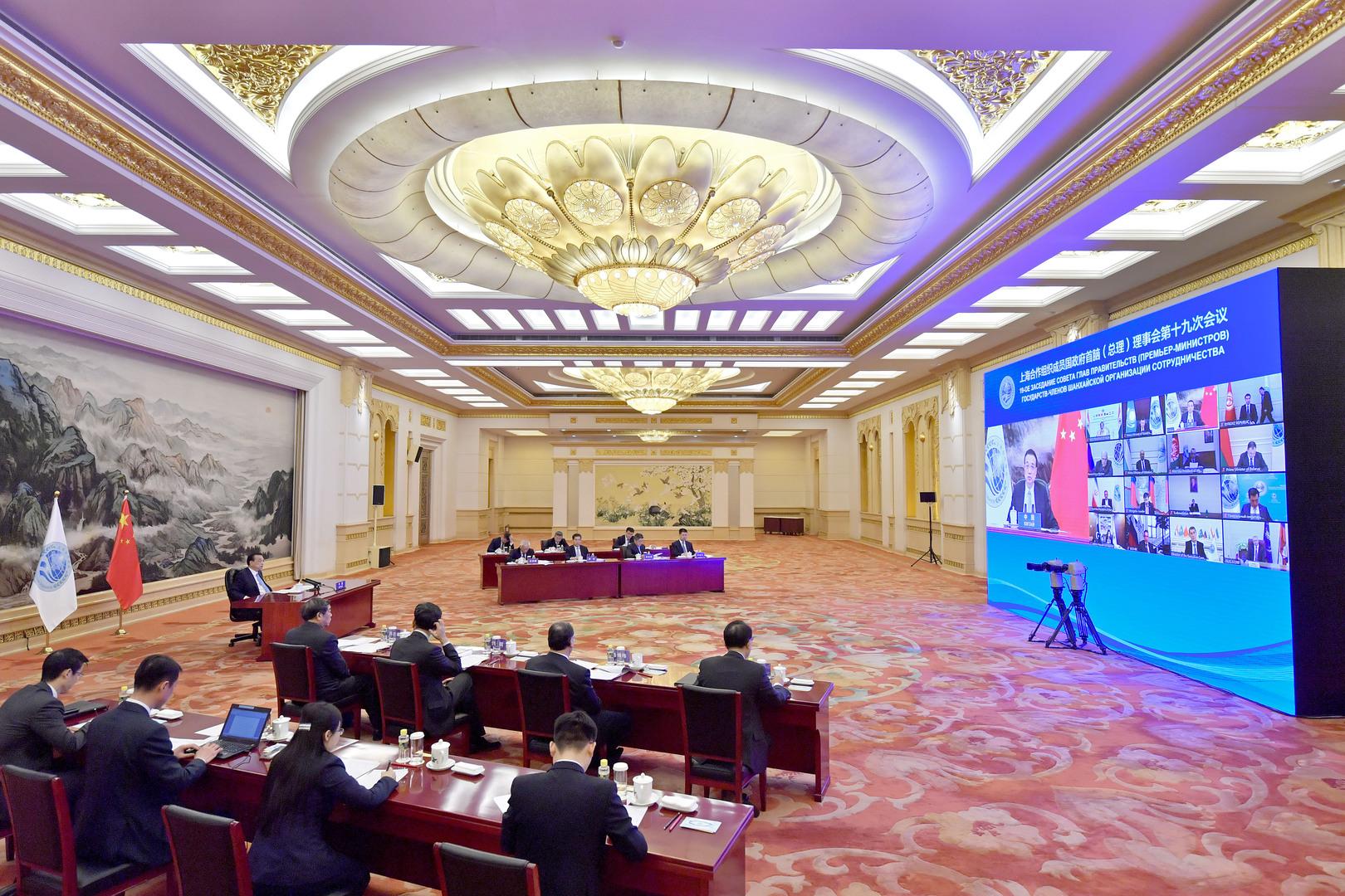 صورة من اجتماع منظمة شنغهاي للتعاون