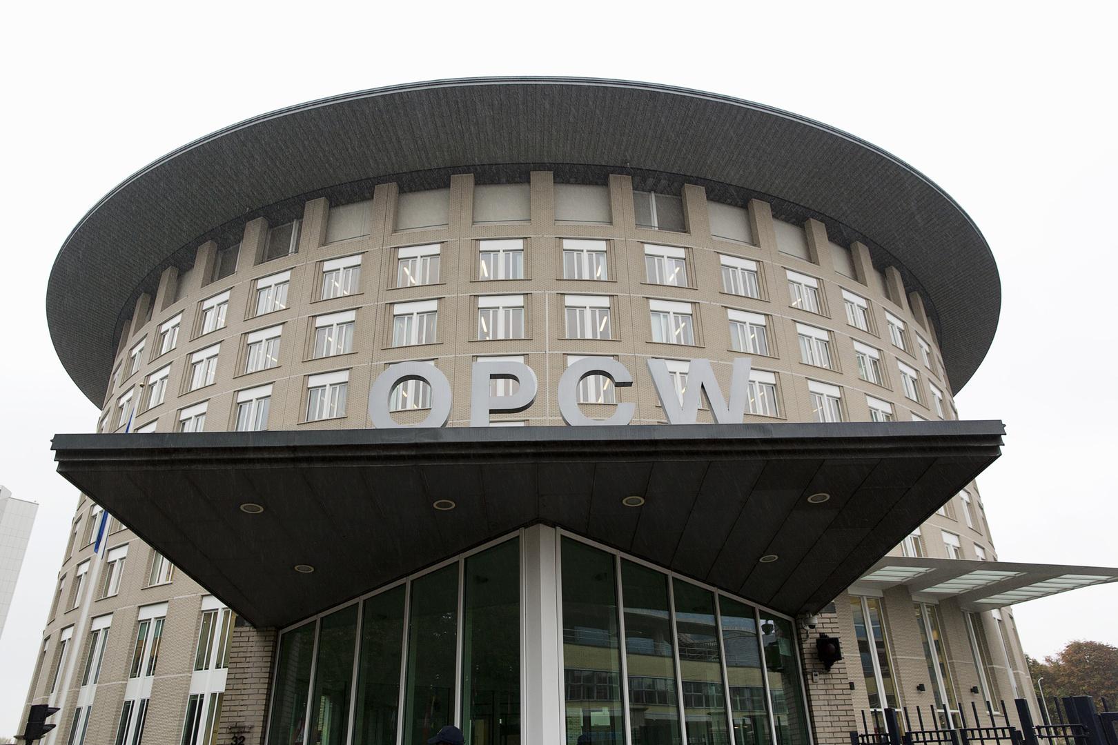 موسكو: نأمل بنشر المراسلات مع منظمة حظر الكيميائي حول قضية نافالني قريبا