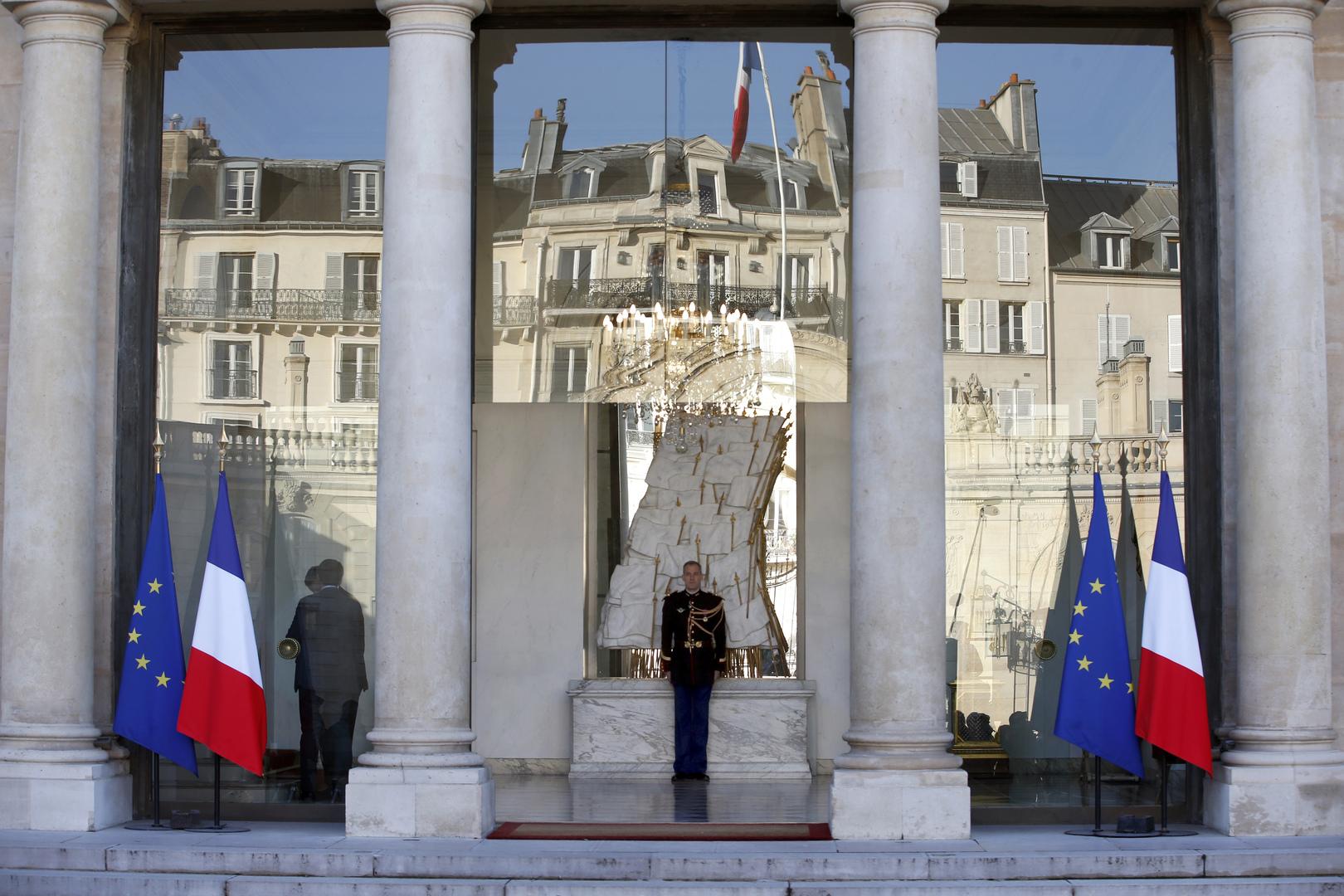 قصر الاليزيه في العاصمة الفرنسية باريس