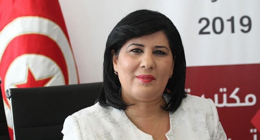 رئيسة الحزب الدستوري الحر عبير موسي