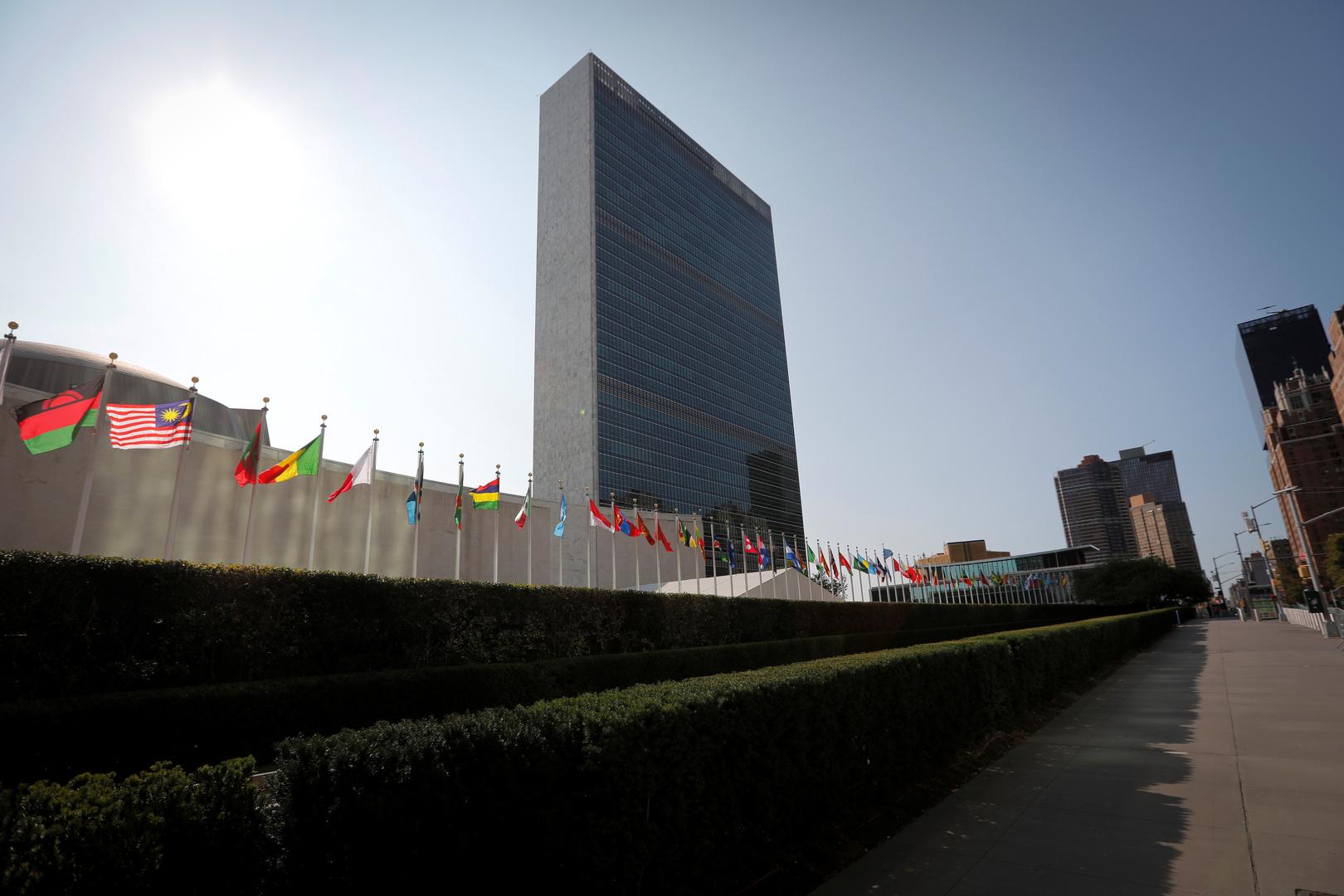 الجمعية العامة للأمم المتحدة تعتمد قرارات بشأن القضية الفلسطينية والجولان المحتل