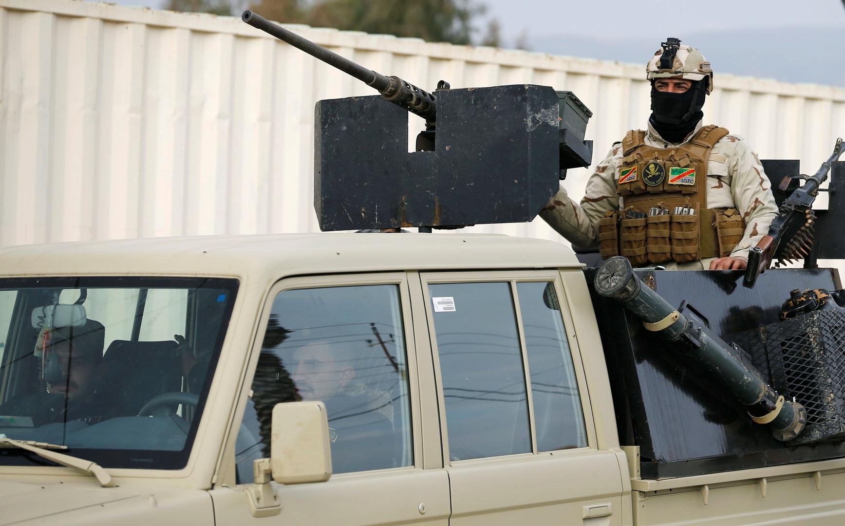 العراق.. المظاهر المسلحة تغادر سنجار والشرطة المحلية تنتشر فيه