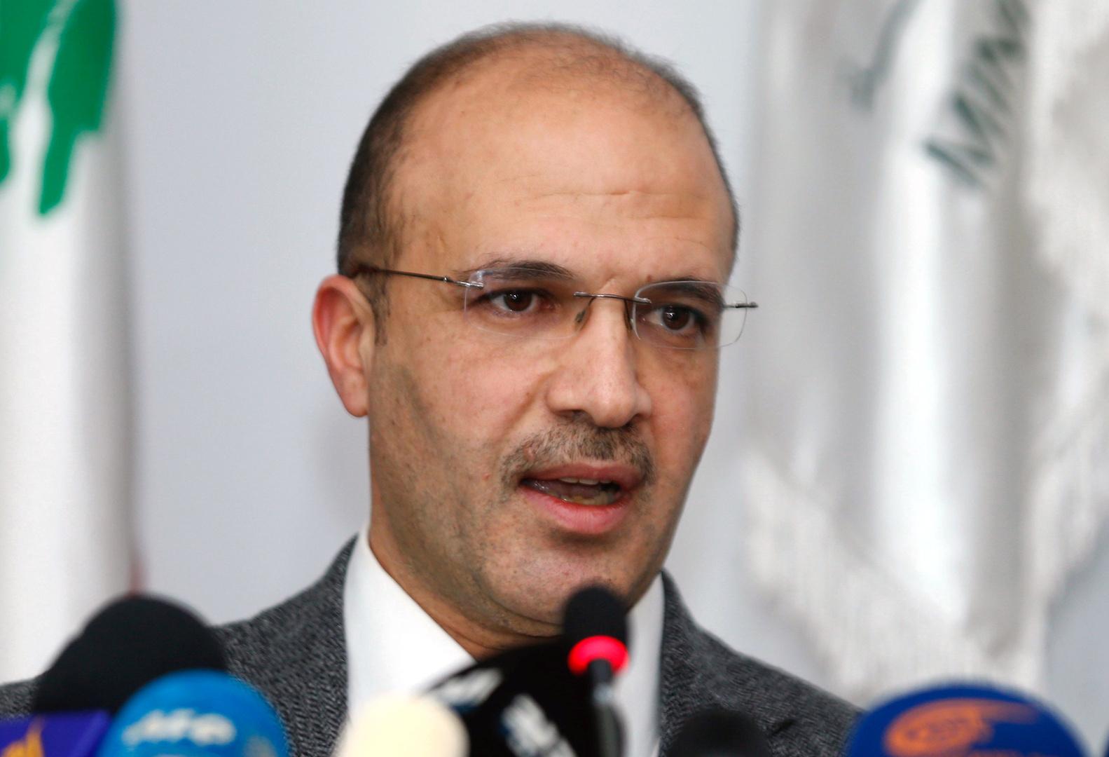 وزير الصحة في حكومة تصريف الأعمال اللبنانية، حمد حسن