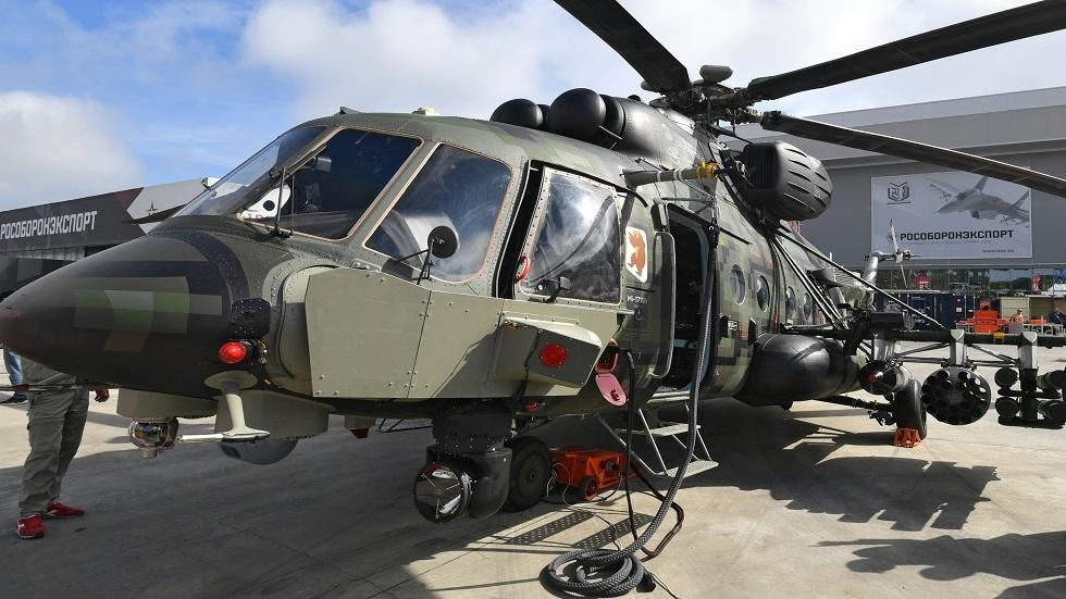 روسيا تباشر بتصنيع نوع جديد من المروحيات المتطورة
