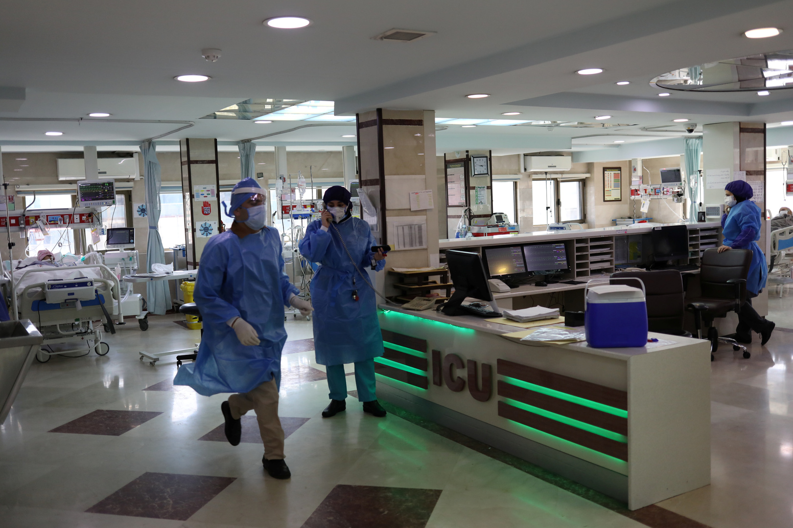إيران: 358 وفاة ونحو  14 ألف إصابة جديدة بفيروس كورونا