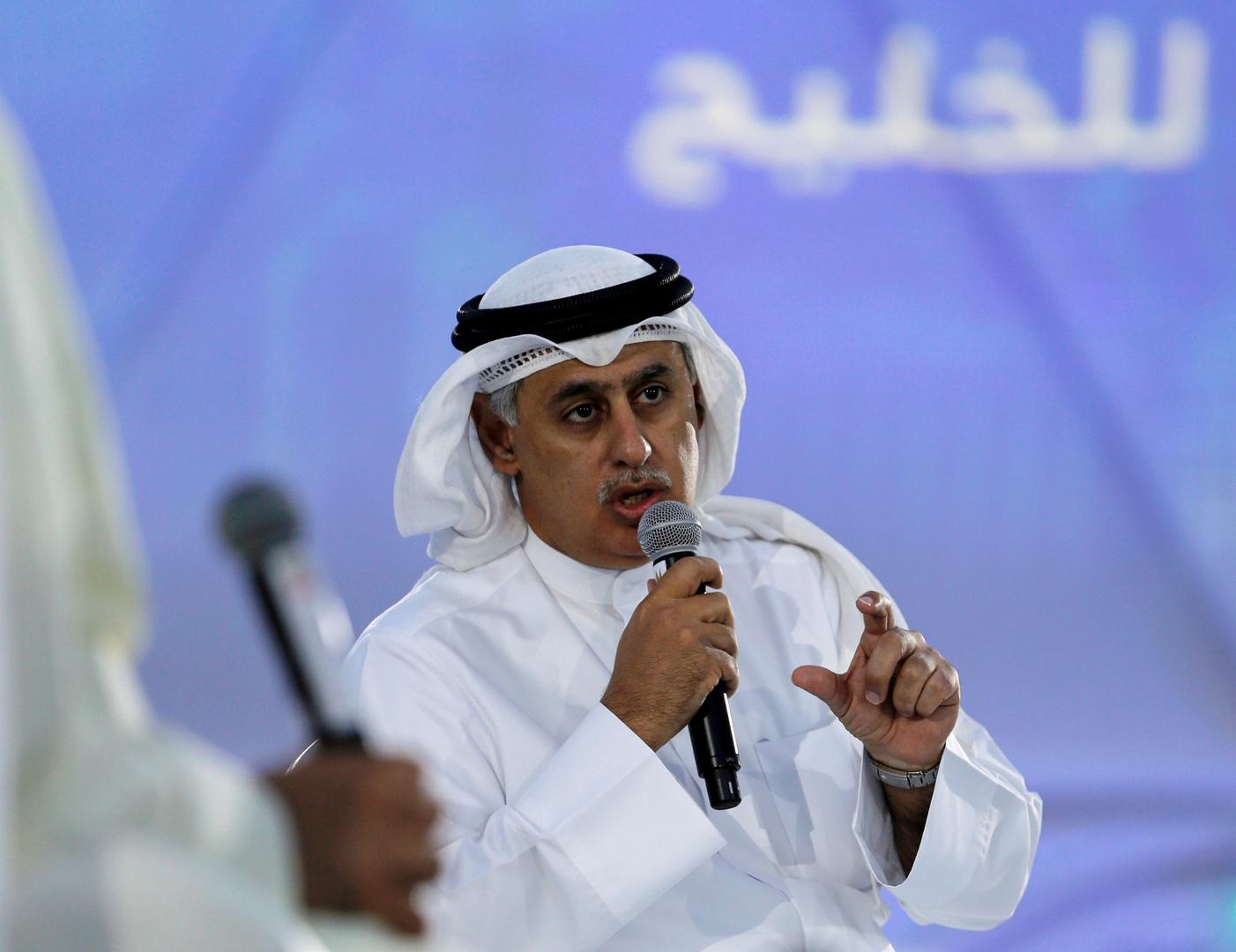 زايد بن راشد الزياني وزير الصناعة والتجارة والسياحة البحريني