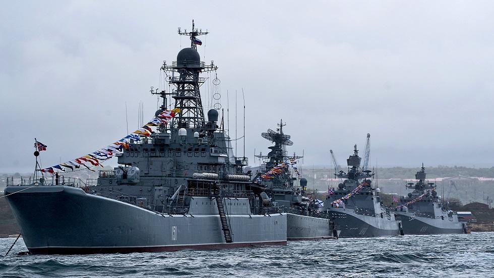 سفن تابعة لأسطول البحر الأسود الروسي (صورة أرشيفية)