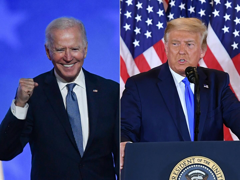 تقرير: بايدن يتقدم على ترامب بـ7 ملايين صوت
