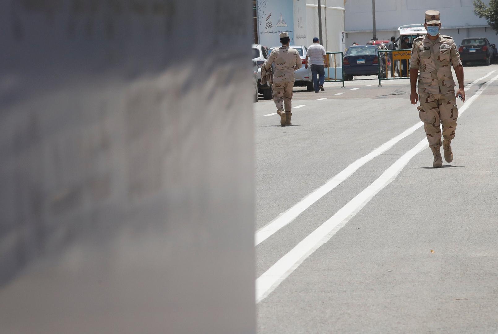 الجيش المصري يستعد لمواجهة الكوارث