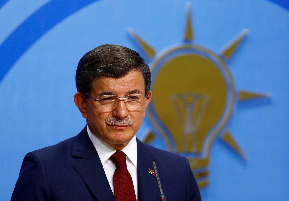 رئيس حزب المستقبل التركي أحمد داود أوغلو
